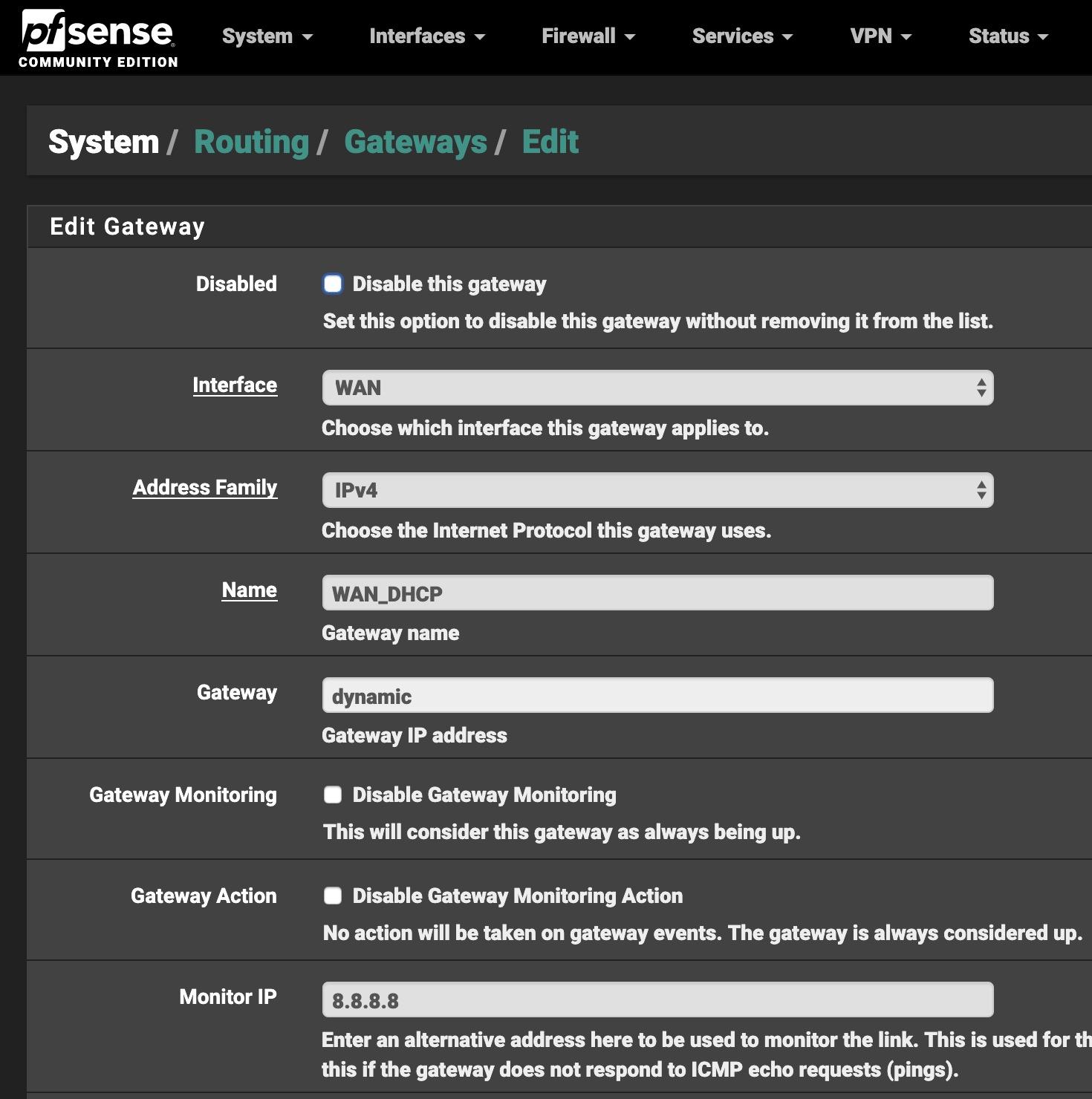 Fix for: pfSense Keeps Dropping WAN Intermittently / Random